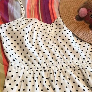 J Crew Polka Dot Sundress
